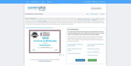 Careers Plus resumes 3