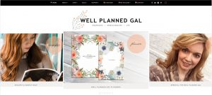 Well Planned Gal Homepage