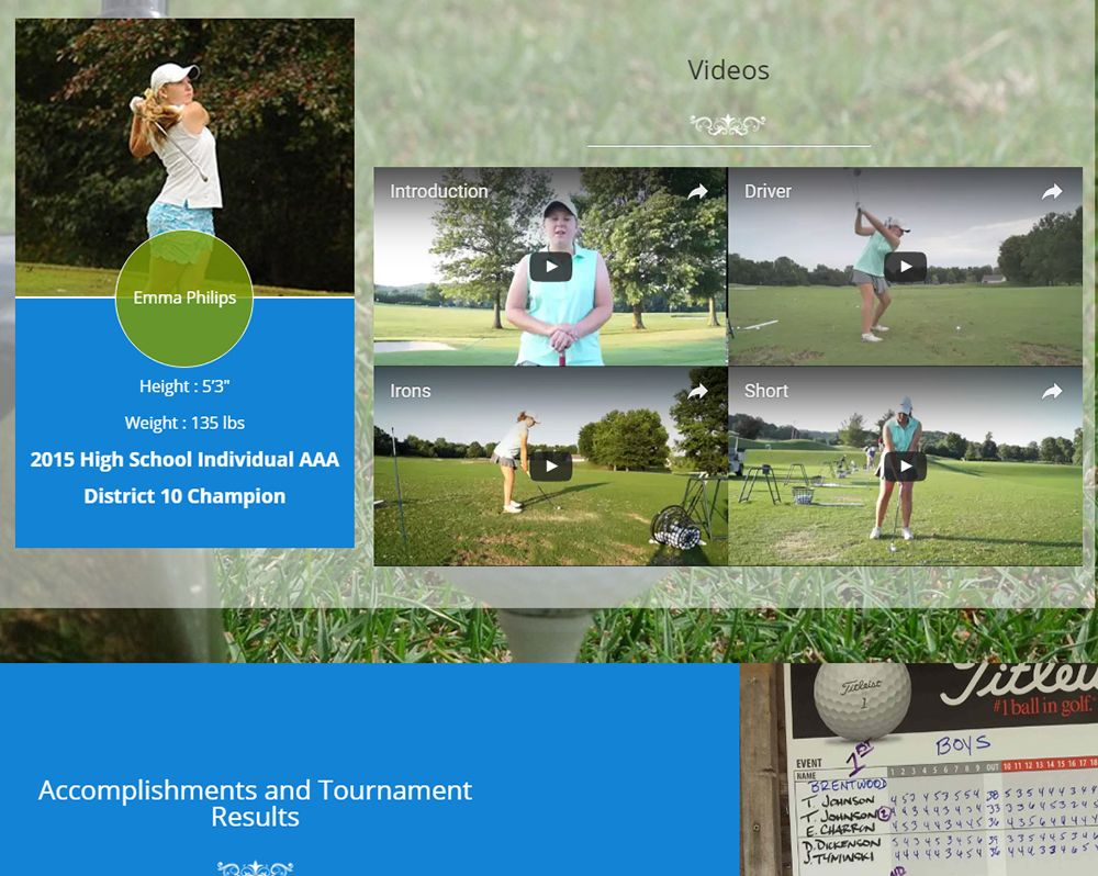 Golf Scholarship Search 2
