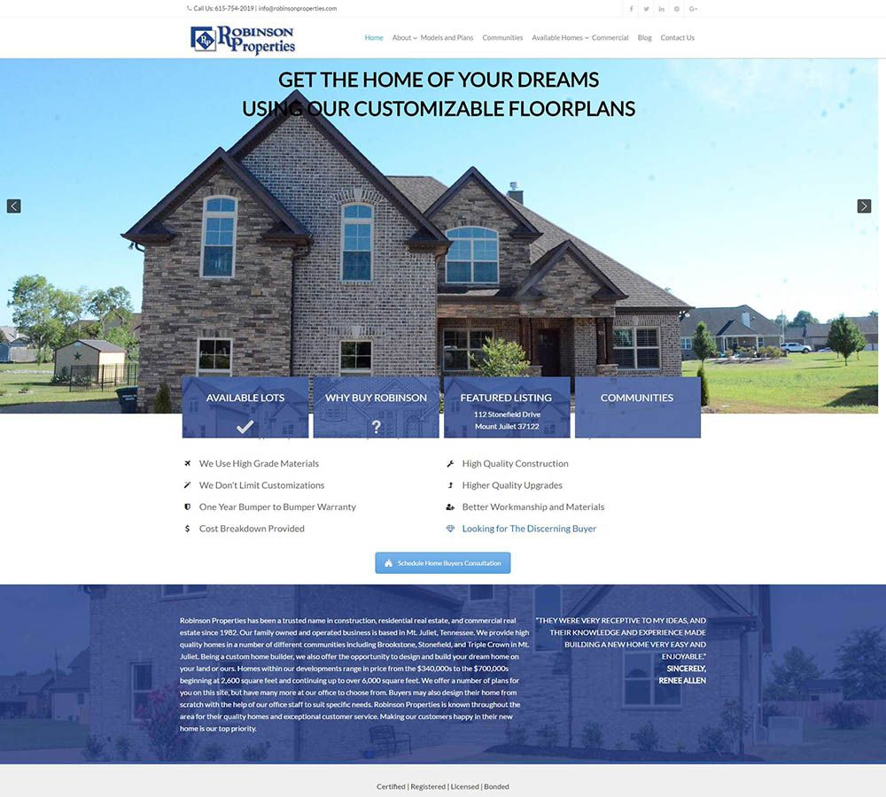 Robinson Properties 2